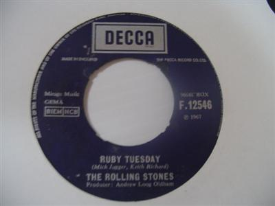 ROLLING STONES - RUBY TUESDAY - DECCA { 2007